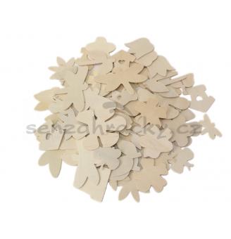 Dřevěné tvary - jaro