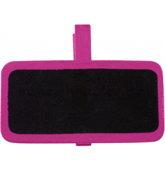 Dřevěné označovací tabulky - růžová