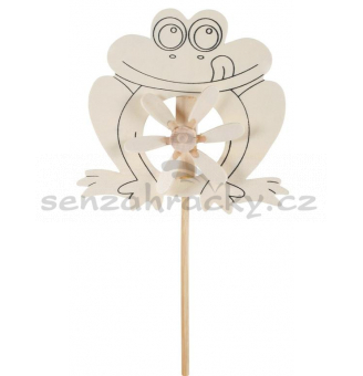 Udělej si dáreček! - Vrtulka - Žabka (15,5 x 30 cm)